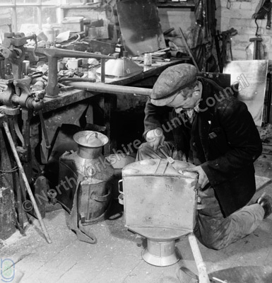 Ned Shaw, Tinsmith, Hawes